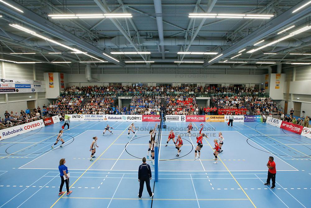 20190424 NED: Sliedrecht Sport - VC Sneek: Sliedrecht<br /> Overview Sporthal De Basis, Sliedrecht Sport<br /> ©2019-FotoHoogendoorn.nl / Pim Waslander