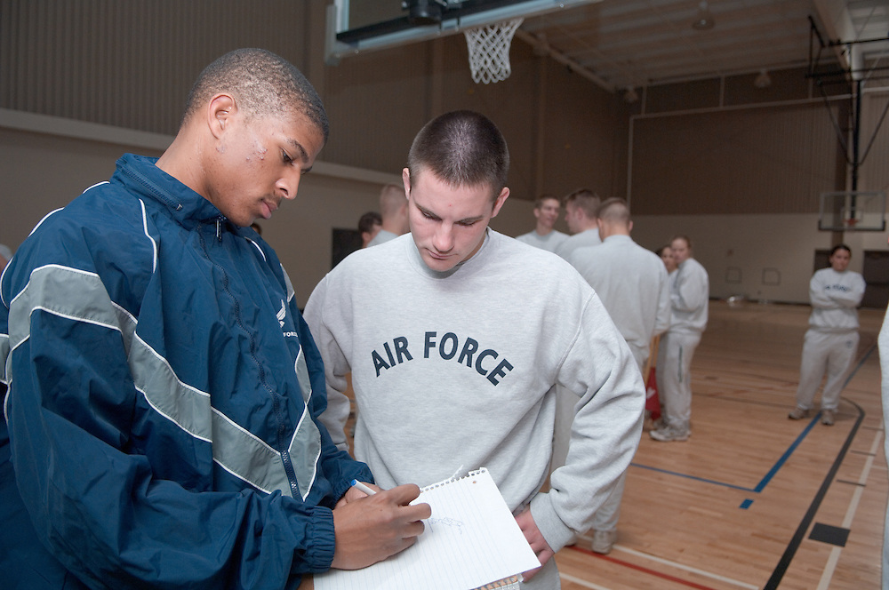 17938Air Force ROTC Warrior Run...2nd LT James Erkard III, and Cadet 3rd Class Jonathon Cozad
