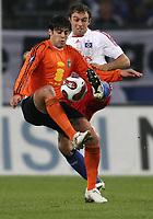 Fotball<br /> UEFA Cup<br /> 04.10.2007<br /> Foto: Witters/Digitalsport<br /> NORWAY ONLY<br /> <br /> v.l. Beto Da Silva, Joris Mathijsen HSV<br /> UEFA-Cup Hamburger SV - Litex Lovech