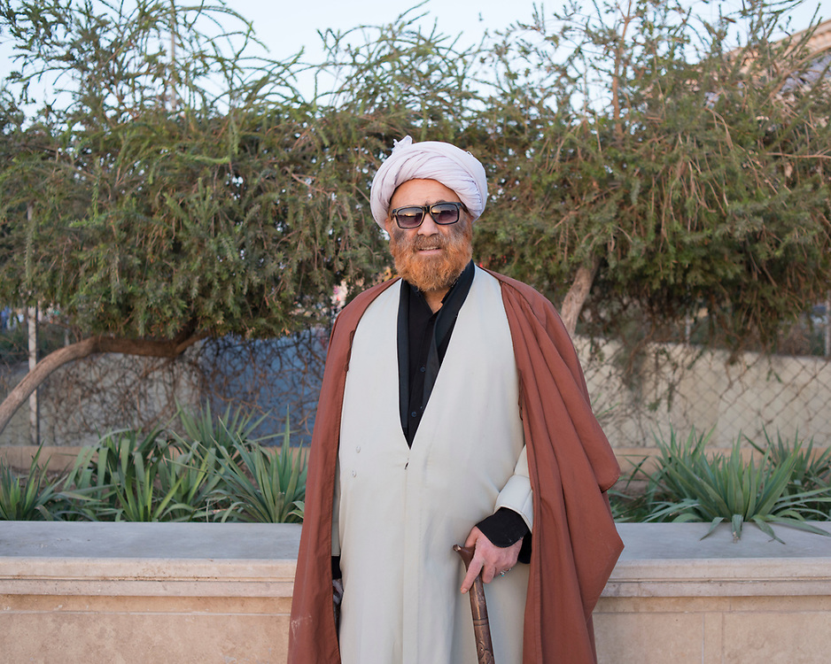Portrait of a Mullah in the holy city of Qom