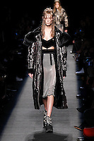 Lexi Boling (FORD) walks the runway wearing Alexander Wang Fall 2015 during Mercedes-Benz Fashion Week in New York on February 14, 2015