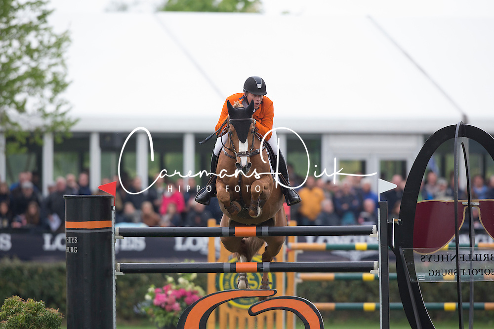 Pals Johnny (NED) - Vignet 12 <br /> Furusiyya FEI Nations Cup<br /> Longines Spring Classic of Flanders<br /> CSIO5 Jumping Lummen 2014<br /> &copy; Dirk Caremans