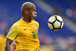 July 7, 2017 - Harrison, New Jersey, U.S - French Guiana midfielder KEVIN RIMANE (6) is seen during CONCACAF Gold Cup 2017 action at Red Bull Arena in Harrison New Jersey Canada defeats French Guiana 4 to 2. (Credit Image: © Brooks Von Arx via ZUMA Wire)