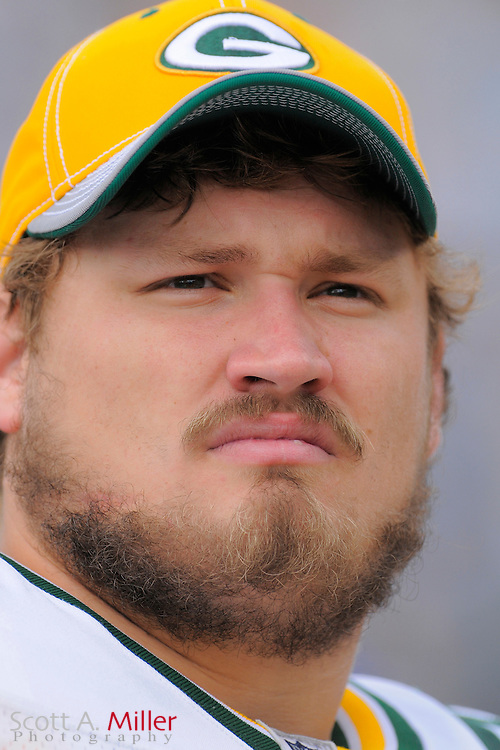 Jacksonville, FL. -- Green Bay Packers guard Josh Sitton (71) during the Packers game against the Jacksonville Jaguars on Dec. 14, 2008 at Jacksonville Municipal Stadium....©2008 Scott A. Miller