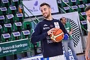 Andrea Picarelli<br /> Banco di Sardegna Dinamo Sassari - Germani Basket Leonessa Brescia<br /> Legabasket Serie A LBA PosteMobile 2017/2018<br /> Sassari, 08/04/2018<br /> Foto L.Canu / Ciamillo-Castoria