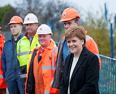 Nicola Sturgeon visits saved Bi Fab yard | Methill | 22 November 2017
