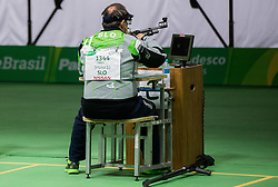 Francek Gorazd Tirsek - Nani of Slovenia during Final of R5 - Mixed 10m Air Rifle Prone SH2 on day 6 during the Rio 2016 Summer Paralympics Games on September 13, 2016 in Olympic Shooting Centre, Rio de Janeiro, Brazil. Photo by Vid Ponikvar / Sportida