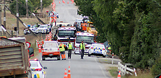 Meremere-Motor cyclist dead after collision with truck at roadworks