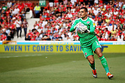 Reading goalkeeper Vito Mannone (1) during the EFL Sky Bet Championship match between Nottingham Forest and Reading at the City Ground, Nottingham, England on 11 August 2018.