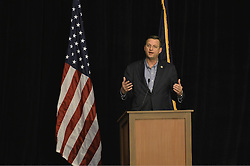 """US Representative Doug Collins from Georgia Doug Collins addresses the media as Republicans gather for a """"Congress of Tomorrow"""" Joint Republican Issues Conference, at the Loews Hotel, in Center City, Philadelphia, Pennsylvania, on January 25, 2017."""