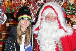 © Licensed to London News Pictures. 21/11/2013, UK. Cara Delevingne, Hyde Park Winter Wonderland VIP Opening, Hyde Park, London UK, 21 November 2013. Photo credit : Richard Goldschmidt/Piqtured/LNP