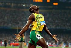 20080820 Olympics Beijing 2008, Usain Bolt 200 m verdensrekord