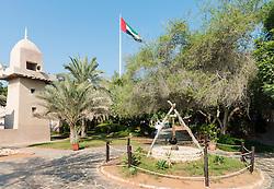 Heritage Village tourist attraction in Abu Dhabi in United Arab Emirates UAE