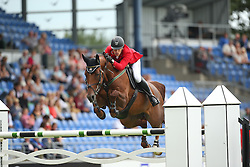 Szabo Gabor, (HUN), Timpex Bolcsesz<br /> Team Competition round 1 and Individual Competition round 1<br /> FEI European Championships - Aachen 2015<br /> © Hippo Foto - Stefan Lafrentz<br /> 19/08/15