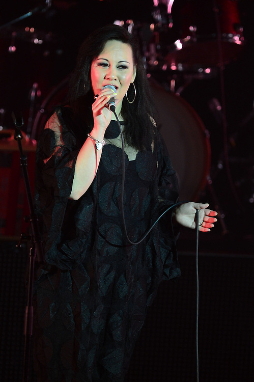 Kirsten Te Rito performing at the APRA Silver Scrolls Awards 2012. Auckland Town Hall. 13 September 2012.