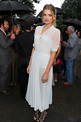 LILY DONALDSON at the annual Serpentine Gallery Summer Party sponsored by Burberry held at the Serpentine Gallery, Kensington Gardens, London on 28th June 2011.