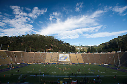 November 13, 2010; Berkeley, CA, USA;  General view of Memorial Stadium before the game between the California Golden Bears and the Oregon Ducks.