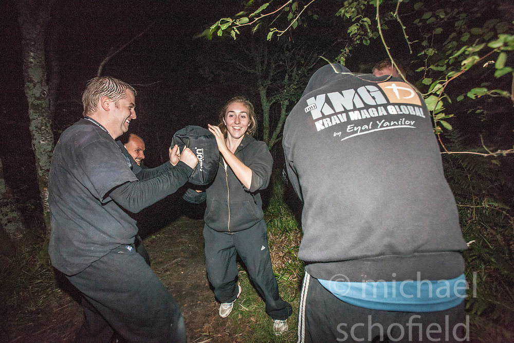Images from the Saturday night session at  Krav Island 2013, a weekend Krav Maga event hosted by the Institute of Krav Maga Scotland which takes place on Saturday 24th & Sunday 25th August on and around Inchcailoch Island, Loch Lomond.