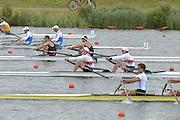 Eton Dorney, Windsor, Great Britain,..2012 London Olympic Regatta, Dorney Lake. Eton Rowing Centre, Berkshire[ Rowing]...Description;  Heat, Men's double Sculls: NZL M2X..Nathan COHEN (b) , Joseph SULLIVAN (s).ITA M2X   Alessio SARTORI (b) , Romano BATTISTI (s).GER.M2X Eric KNITTEL (b) , Stephan KRUEGER (s).AUS.David CRAWSHAY (b) , Scott BRENNAN (s).Dorney Lake..    12:20:07  Tuesday  31/07/2012.[Mandatory Credit: Peter Spurrier/Intersport Images].