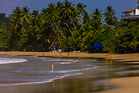 Mirissa Beach, south coast of Sri Lanka.