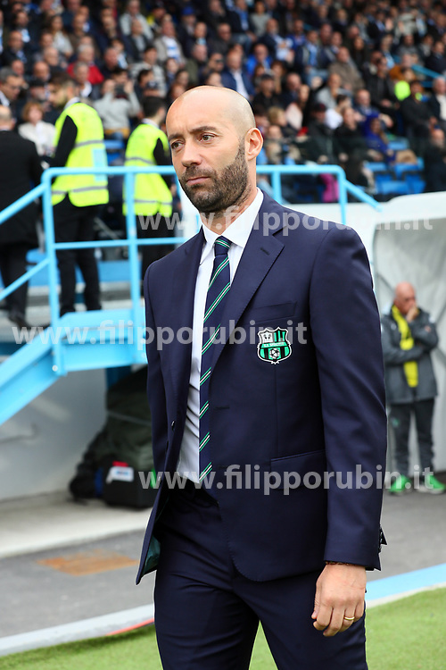 "Foto LaPresse/Filippo Rubin<br /> 22/10/2017 Ferrara (Italia)<br /> Sport Calcio<br /> Spal - Sassuolo - Campionato di calcio Serie A 2017/2018 - Stadio ""Paolo Mazza""<br /> Nella foto: CRISTIAN BUCCHI<br /> <br /> Photo LaPresse/Filippo Rubin<br /> October 22, 2017 Ferrara (Italy)<br /> Sport Soccer<br /> Spal vs Sassuolo - Italian Football Championship League A 2017/2018 - ""Paolo Mazza"" Stadium <br /> In the pic: CRISTIAN BUCCHI"