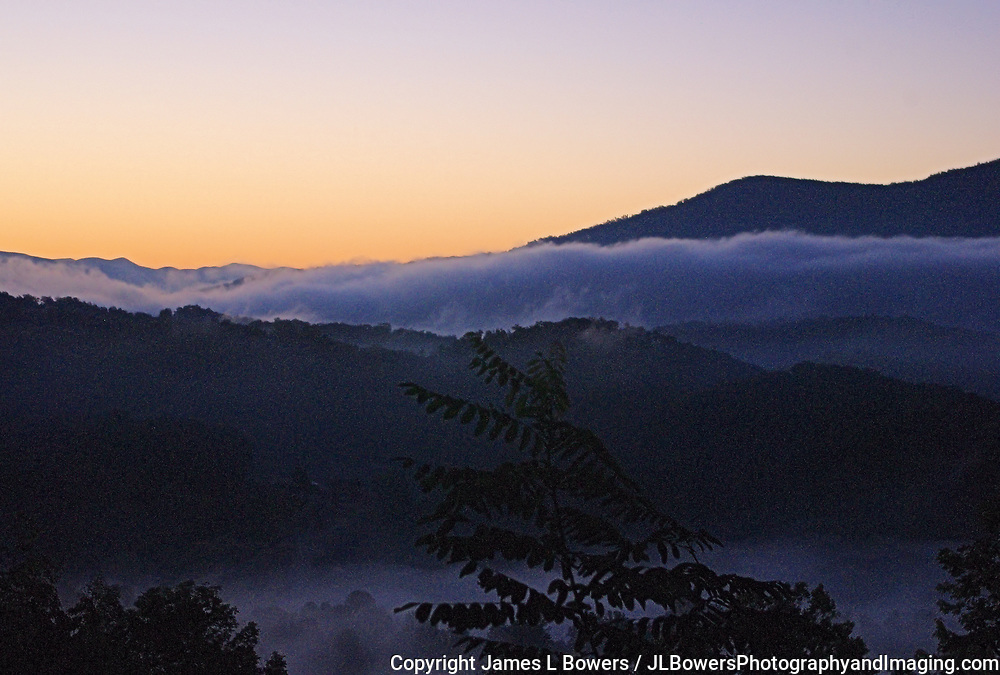 Dawn in Smoky Mountains - NC