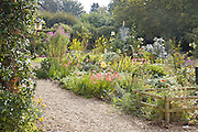 The gardens at Will Gissane's Herefordshire home<br /> CREDIT: Vanessa Berberian for The Wall Street Journal<br /> HOBBY-Gissane/UK