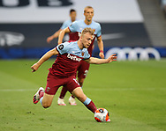 West Ham's Jarrod Bowen during the Premier League match at the Tottenham Hotspur Stadium, London. Picture date: 23rd June 2020. Picture credit should read: David Klein/Sportimage