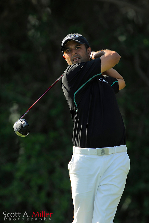 Arjun Atwal during the second round of the Honda Classic at PGA National on March 2, 2012 in Palm Beach Gardens, Fla. ..©2012 Scott A. Miller.