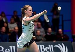 Jess Hopton of Bristol Jets  - Photo mandatory by-line: Robbie Stephenson/JMP - 07/11/2016 - BADMINTON - University of Derby - Derby, England - Team Derby v Bristol Jets - AJ Bell National Badminton League