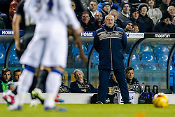 Recently appointed Leeds United Manager Neil Redfearn looks on - Photo mandatory by-line: Rogan Thomson/JMP - 07966 386802 - 04/11/2014 - SPORT - FOOTBALL - Leeds, England - Elland Road Stadium - Leeds United v Charlton Athletic - Sky Bet Championship.