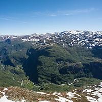 The Flåm valley