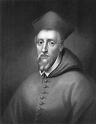 William Allen (1532-1594) English prelate; created Cardinal 1587. On accession of Elizabeth I went into exile. Founded English colleges to train missionaries to reconvert England to Roman Catholicism. Died in Rome. Engraving