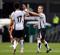 Photo: Daniel Hambury.<br />Fulham v Boavista. Pre Season Friendly. 12/08/2006.<br />Fulham's Helder Helguson celebrates his goal.