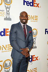March 9, 2019 - Los Angeles, CA, USA - LOS ANGELES - MAR 9:  Omar Wilson at the 50th NAACP Image Awards Nominees Luncheon at the Loews Hollywood Hotel on March 9, 2019 in Los Angeles, CA (Credit Image: © Kay Blake/ZUMA Wire)