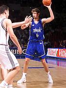 Francia 26/06/1999<br /> Campionati Europei di Basket Francia 1999<br /> Italia-Germania<br /> Giacomo Galanda