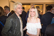TIM NOBLE; SCARLETT CARLOS-CLARKE, Henry Hudson: The Rise and Fall of Young Sen – The Contemporary Artist's Progress - private view. S2,  Sothebys 31 St George Street, London