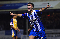 Photo: Ashley Pickering/Sportsbeat Images.<br /> Colchester United v Leicester City. Coca Cola Championship. 03/11/2007.<br /> Johnnie Jackson celebrates the equaliser for Colchester
