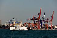 Turkey. Istambul. Asian side., Haydarpasa industrial Port