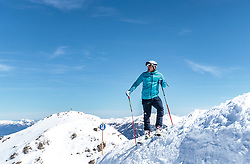 02.04.2018, Skizentrum Hochzillertal, Kaltenbach, AUT, JumpandReach Skitag, im Bild Patrick Murnig // during the Skiing Day after the Winterseason with the Austrian JumpandReach Athletes at the Skiresort Hochzillertal, Austria on 2018/04/02. EXPA Pictures © 2018, PhotoCredit: EXPA/ JFK