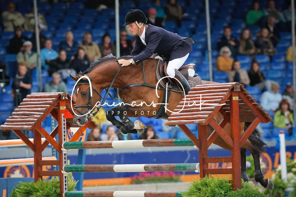 Thijssen Leon (NED) - Tyson<br /> CHIO Rotterdam 2008<br /> Photo © Hippo Foto