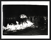 Burning Boat, Oriel College, Oxford, 1981