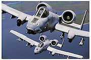 A-10s Low Level Flying