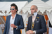 ANGUS STEWART; DRUMMOND MONEY-COUTTS, The Veuve Clicquot Gold Cup Final.<br /> Cowdray Park Polo Club, Midhurst, , West Sussex. 15 July 2012.