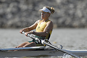 Oklahoma, USA,  AUS W2- Kim CROW, competing in the USA World Rowing Challenge, held on The Oklahoma River, Oklahoma City, Fri. 12.10.2007 [Mandatory Credit. Peter Spurrier/Intersport Images]..... , Rowing Course: Oklahoma River, Oklahoma City, Oklahoma, USA