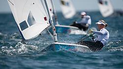 2012 Olympic Games London / Weymouth<br /> Racing day 1 Laser<br /> Laser RadialFINMultala Sari