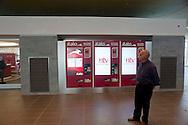 Roma  23 Maggio 2012.La nuova Stazione Tiburtina dell'alta velocità..Casa Italo. Biglietteria self-service...