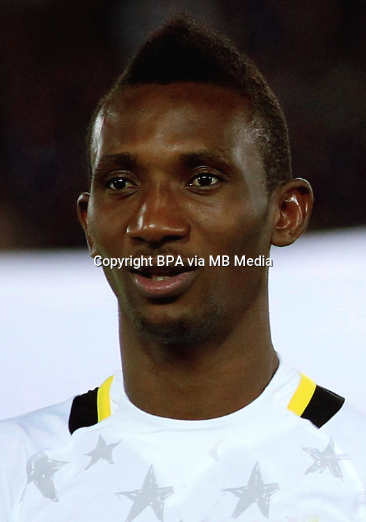 Football Fifa Brazil 2014 World Cup Matchs-Friendly / <br /> Japan vs Ghana 3-1   ( International Stadium Yokohama - Kanagawa - Japan )<br /> Harrison Afful of Ghana ,  during the friendly match between Japan and Ghana