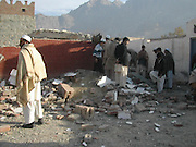 Bomb Blast Near Afghan Border Destroys School<br /> Another powerful blast in Government School  in Landikotal near the PAK Afghan Torkham border in Pakistan. The school having 24 class rooms were completely destroyed. Local residents survey the school allegedly bombed by the militants near the border. According to the security officials dozens of educational Buildings including girls schools have been destroyed by the militants in recent months in tribal khyber region near the Afghan border with pakistan. According to the local tribal elders thousands of tribal students have been deprived of getting a full education and it is fear that the youth might be convinced  to join the Militancy.<br /> ©Yasir Shinwari/Exclusivepix