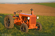 1941 Allis Chalmers IU Tractor restored by Bob Callison of Kendrick Idaho